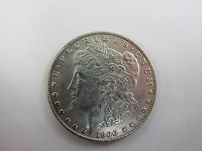 Morgan Dollar 1900 - Two Face Trick / Magic Coin - Double Heads