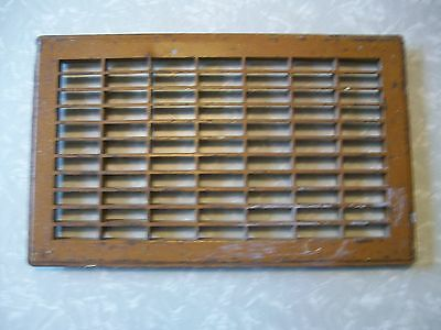 Vintage Metal Furnace Register Heating Floor Grate