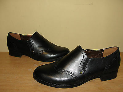 Naturalizer N5 Comfort Women's Shoes Black KAVITA Leather Loafers Flats Sz 8.5W