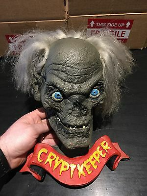 Tales From The Crypt Cryptkeeper Wall Mount Bust Head Vintage Rare