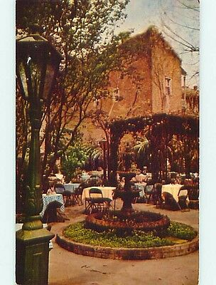 1950's COURT OF TWO SISTERS RESTAURANT New Orleans Louisiana LA s1454
