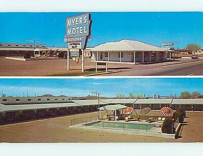 Pre-1980 MYERS MOTEL Lordsburg New Mexico NM s8900