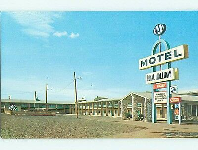 Pre-1980 ROYAL HOLLIDAY MOTEL Gallup New Mexico NM s8426