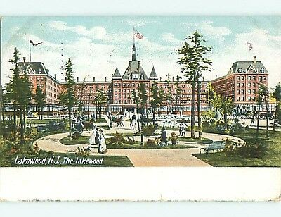 Pre-1907 LAKEWOOD HOTEL Lakewood New Jersey NJ t2030