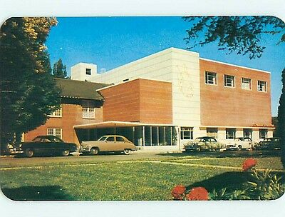 Unused 1950's STUDENT UNION BUILDING AT UNIVERSITY OF IDAHO Moscow ID t4073