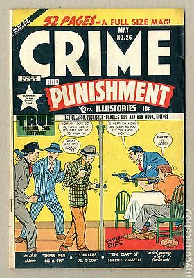 Crime and Punishment (1948) #26 GD+ 2.5
