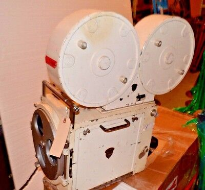 MITCHELL DB-70 70mm Motion Picture Camera, W/ 3 Lens Turret, Magazine,Motor Rare