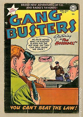Gang Busters (1948) #40 GD+ 2.5