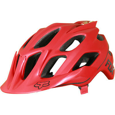 Fox Mtb Flux Hommes Casque - Solid Red Toutes Tailles