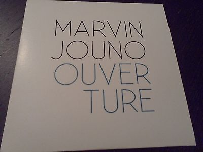 Marvin Jouno Cd Promo 4 Titres Ouverture