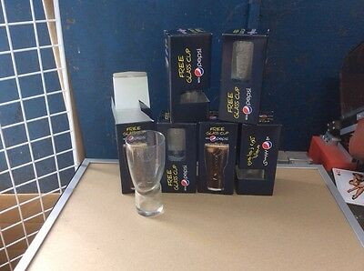 Lot De 30 Verres Pepsi En Relief  Neuf // Ideal Revendeur