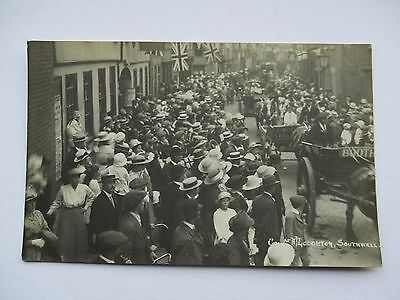Horse And Carts Parade And Crowds  , Southwell - A.j.loughton Rp