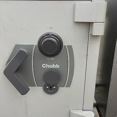 Chubb Safe Combination Key Mangers Security Cash Guns Valuable