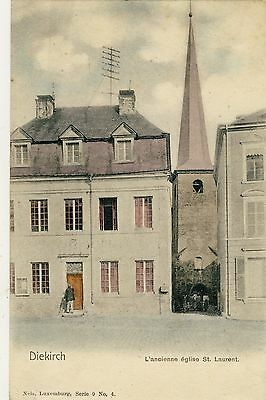 LUXEMBOURG  DIEKIRCH ancienne Eglise St Laurent