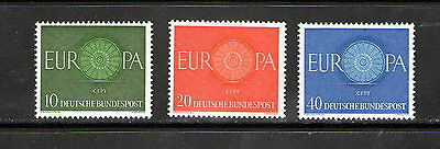 "Germany  ""Europa"" set.    M.N.H.       29p ask."