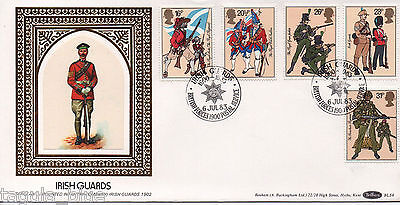 "1983 ""British Army"" Benham First Day Cover IRISH GUARDS BFPS special"