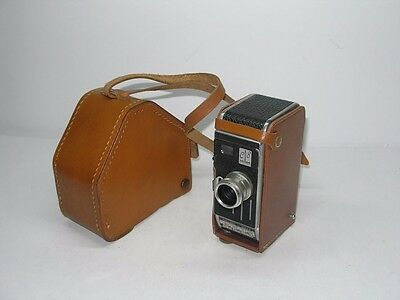 Vintage Paillard Bolex E8 Movie Camera 12.5Mm With Lytar Lens With Case