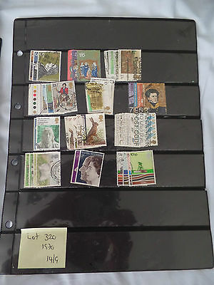 Used GB Sets of 1970 Commemorative Stamps (Lot 320)