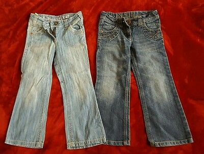 2 pairs bootcut jeans girls 6 years from Next
