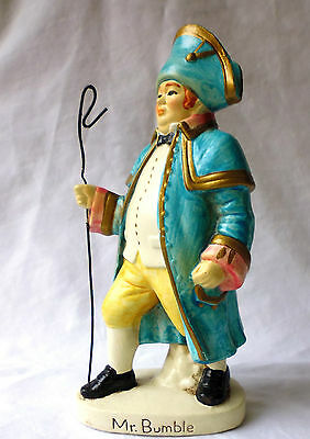 CHARLES DICKENS. MR BUMBLE figure. vintage hand painted. c.1930s ART DECO. !!!!!