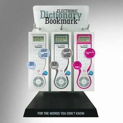 NEW! Electronic Dictionary Bookmark English