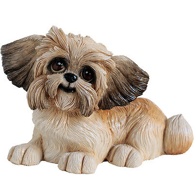 Arora Designs - Pets With Personality Flo - Shih-Tzu Figurine  NEW