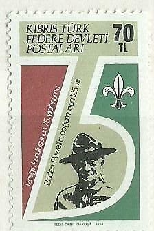 1982 Cyprus (Turkish Administration) Year of The Scout 1V MNH