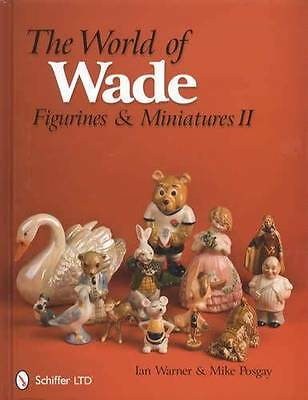 Vintage Wade Art Pottery Collector Guide 352 pgs Porcelain Figurines, Miniatures