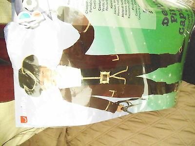boys captain pirate dressing up outfit age 10+