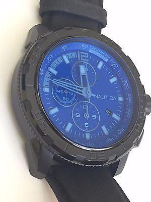 Nautica Watch $215 NAD12504G New Over Stock With Tags
