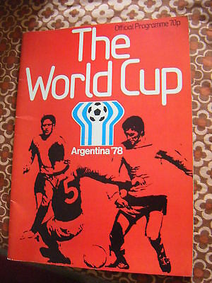 Argentina - The World Cup Offical Programme 1978
