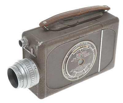 Bell & Howell Filmo Auto Load movie camera 16mm w. 20/2.5 Comat exc++ sold as is