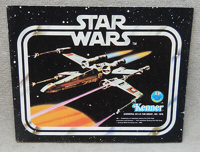 Vintage 1978 Star Wars Toy Booklet Catalogue.