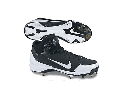 Nike Air Huarache 2KFresh Metal Men's Baseball Cleats NIB Black/White