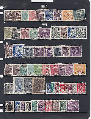A Large Lot Of Czechoslovakia Stamps From Early In Mint Or Used See 5 Photos 26*