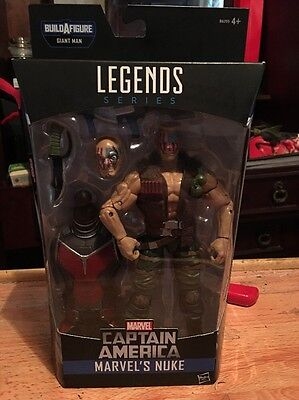 New Marvel Legends Series Figures - NUKE - Captain America - Build a Figure