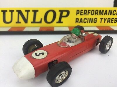Scalextric Vintage Car C73 Type 3 With Steering Porsche 804 F1 Race No5