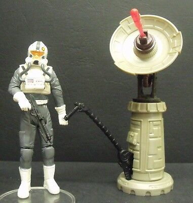 Star Wars ROTS - Clone Pilot Firing Cannon Figure III-34 - Clone Trooper Figure