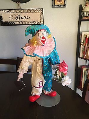 """Heritage Mint Clown/ """" Happiness and Love Collection """",1989 Chester"""