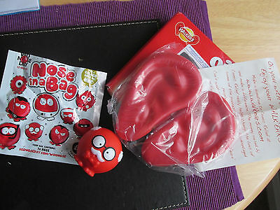 RED NOSE DAY Memorabilia:WALKERS EARS & 2015 Red Nose