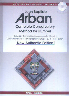 Jean-Baptiste Arban Complete Conservatory Method for Trumpet Trompete Noten CD
