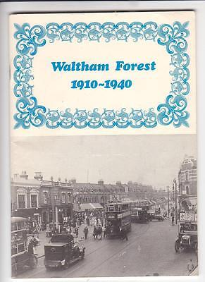 Waltham Forest 1910-1940. Walthamstow, Leytonstone, Chingford. Nearly 100 photos