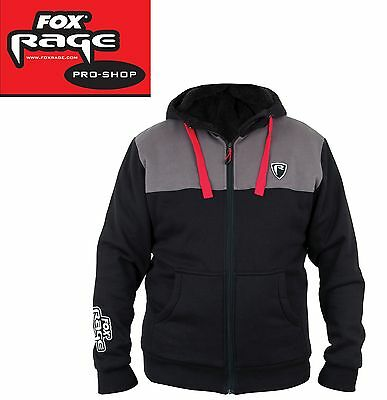 Fox Rage Sherpa Lined Hoody Pullover, Angelpullover, Angelbekleidung