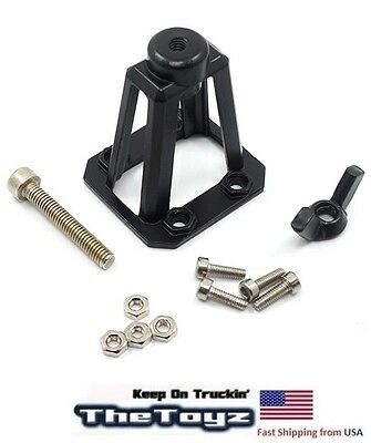 Steel Spare Tire Carrier for RC Rock Crawler by Yeah Racing YA-0457BK