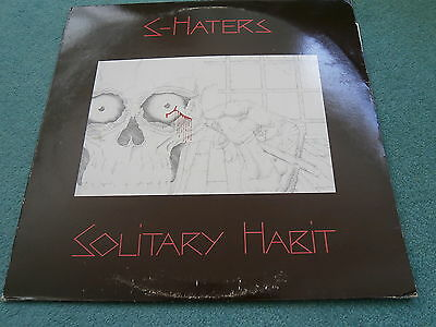 """S-Haters Solitary Habit Midnight Music Dong6 12"""" Punk New Wave Vinyl In Death"""