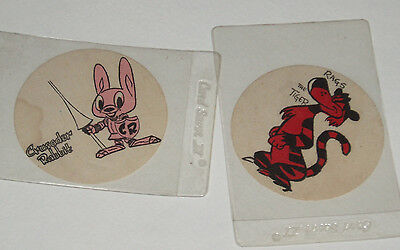 1950's Crusader Rabbit & Rags Premium Iron On Patches