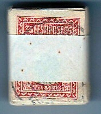 Estonia: Stamp #21 - For Injured Soldiers, Pack Of 100 Stamps, Used, 1920