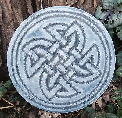 plastic plaque Gothic Pagan Wicca Celtic mold decorative stepping stone mould