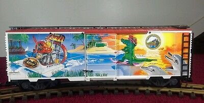 Lgb 40913 Fort Lauderdale Florida. 1997 Convention Boxcar - G Scale Trains