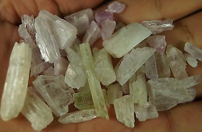 Natural kunzite crystal Mineral Specimen lot of 342 CARATS  FROM AFGHANISTAN